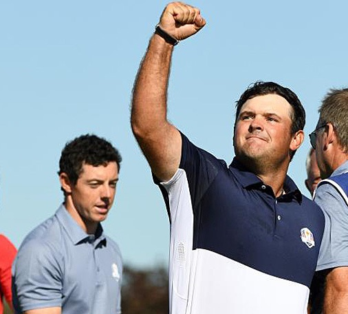 Ryder Cup McIlroy Reed